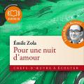 Couverture Pour une nuit d'amour Editions Audiolib 2009