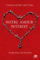 Couverture Forbidden / Notre amour interdit Editions France Loisirs 2017