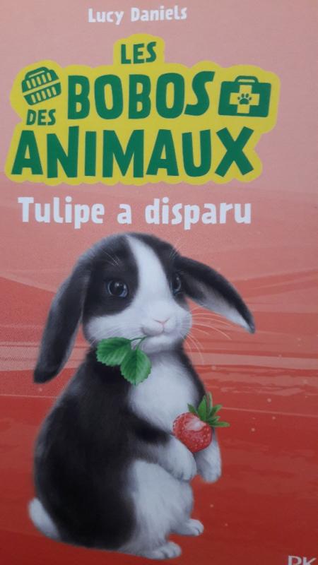 Couverture Les bobos des animaux, tome 2 : Tulipe a disparu