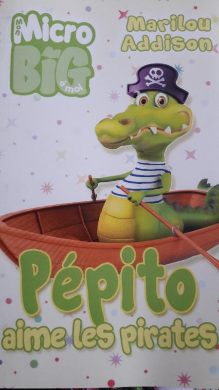 Couverture Pépito aime les pirates