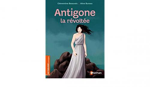 Couverture Antigone la révoltée