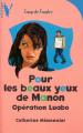 Couverture Pour les beaux yeux de Manon Editions Hachette (Vertige - Coup de foudre) 2000