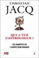 Couverture Les enquêtes de l'inspecteur Higgins, tome 09 : Qui a tué l'astrologue ? Editions XO 2016