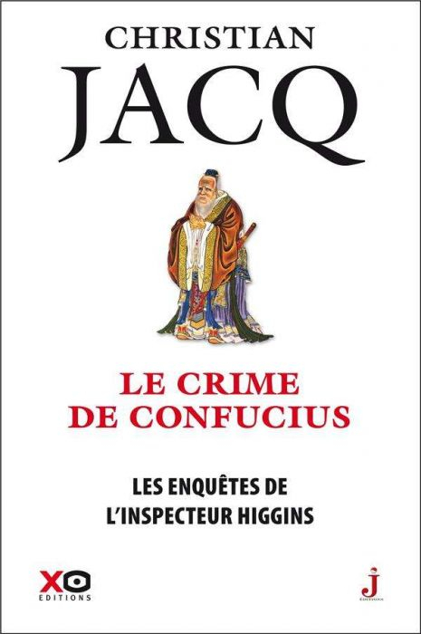 Couverture Les enquêtes de l'inspecteur Higgins, tome 10 : Le crime de Confucius