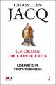 Couverture Les enquêtes de l'inspecteur Higgins, tome 10 : Le crime de Confucius Editions XO 2016