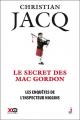Couverture Les enquêtes de l'inspecteur Higgins, tome 11 : Le secret des MacGordon Editions XO 2016