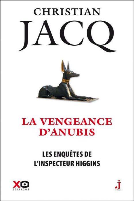 Couverture Les enquêtes de l'inspecteur Higgins, tome 14 : La vengeance d'Anubis