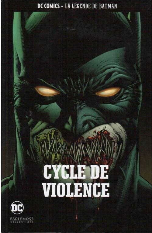 Couverture Batman : Le Chevalier Noir (Renaissance), tome 2 : Cycle de Violence