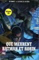 Couverture Que meurent Batman et Robin Editions Eaglemoss 2018