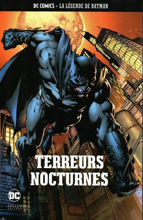 Couverture Batman : Le Chevalier Noir (Renaissance), tome 1 : Terreurs Nocturnes