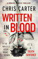 Couverture Written In Blood Editions Simon & Schuster 2020