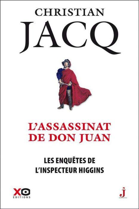 Couverture Les enquêtes de l'inspecteur Higgins, tome 15 : L'assassinat de Don Juan