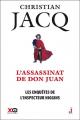 Couverture Les enquêtes de l'inspecteur Higgins, tome 15 : L'assassinat de Don Juan Editions XO 2016