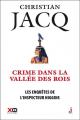 Couverture Les enquêtes de l'inspecteur Higgins, tome 16 : Crime dans la vallée des rois Editions XO 2016