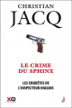 Couverture Les enquêtes de l'inspecteur Higgins, tome 18 : Le crime du sphinx Editions XO 2016