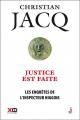 Couverture Les enquêtes de l'inspecteur Higgins, tome 20 : Justice est faite Editions XO 2016
