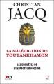 Couverture Les enquêtes de l'inspecteur Higgins, tome 22 : La malédiction de Toutânkhamon Editions XO 2016