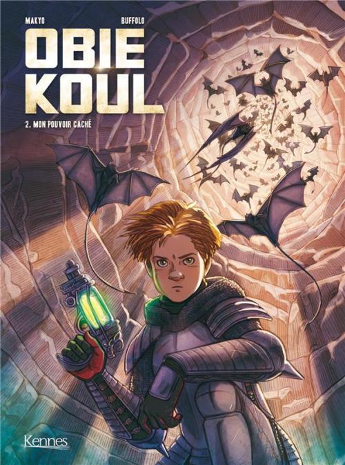 Couverture Obie Koul, tome 2 : Mon pouvoir caché