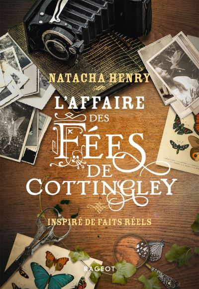 Couverture L'affaire des fées de Cottingley : Inspiré de faits réels