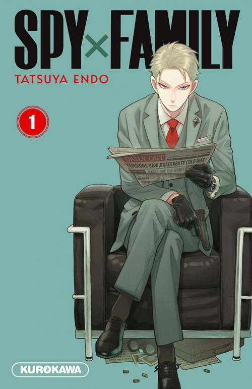Couverture Spy X Family, tome 1