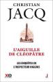 Couverture Les enquêtes de l'inspecteur Higgins, tome 25 : L'aiguille de Cléopâtre Editions XO 2017