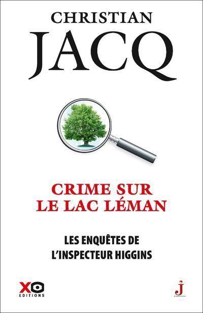 Couverture Les enquêtes de l'inspecteur Higgins, tome 27 : Crime sur le Lac Leman