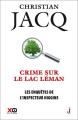 Couverture Les enquêtes de l'inspecteur Higgins, tome 27 : Crime sur le Lac Leman Editions XO 2018