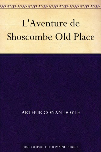 Couverture L'Aventure de Shoscombe Old Place