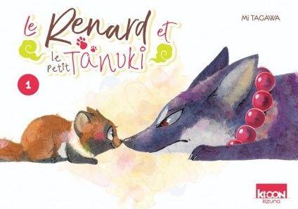 Couverture Le renard et le petit Tanuki, tome 1