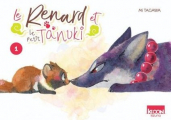 Couverture Le renard et le petit Tanuki, tome 1 Editions Ki-oon (Kizuna) 2020