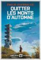 Couverture Quitter les monts d'automne Editions Albin Michel (Imaginaire) 2020