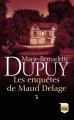 Couverture Les enquêtes de Maud Delage, triple, tome 3 Editions France Loisirs (Poche) 2020