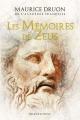 Couverture Les Mémoires de Zeus Editions Bragelonne (Fantasy) 2020