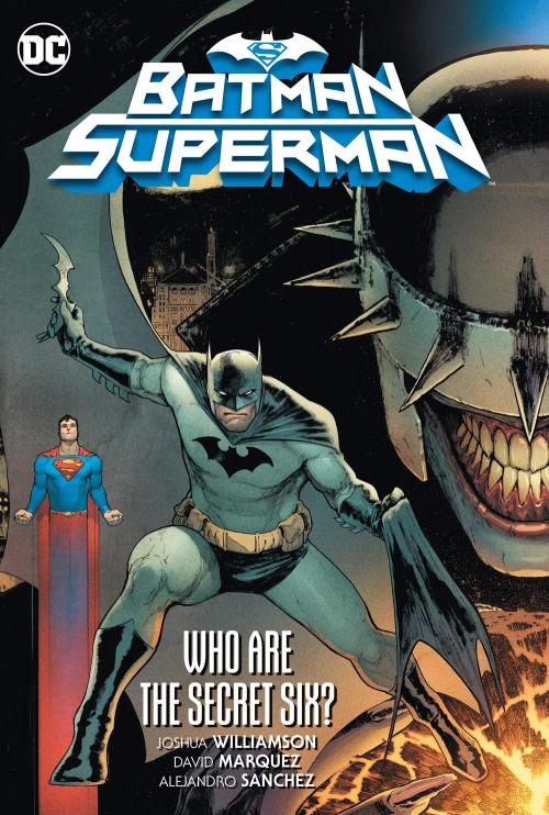 Couverture Batman/Superman (Williamson), book 1 : Who are the Secret Six ?