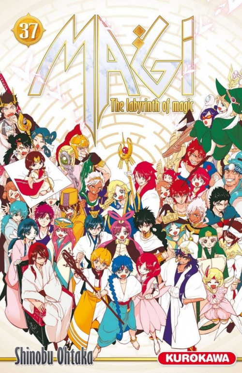 Couverture Magi : The Labyrinth of Magic, tome 37