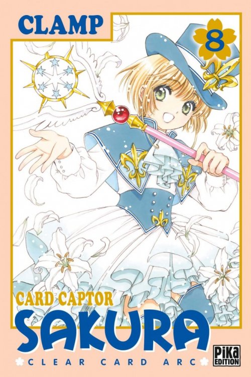 Couverture Card Captor Sakura : Clear Card Arc, tome 8