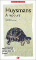 Couverture À rebours Editions Flammarion (GF) 2019