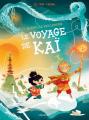 Couverture La famille Vieillepierre, tome 3 : Le voyage de Kai Editions Sarbacane (BD) 2020