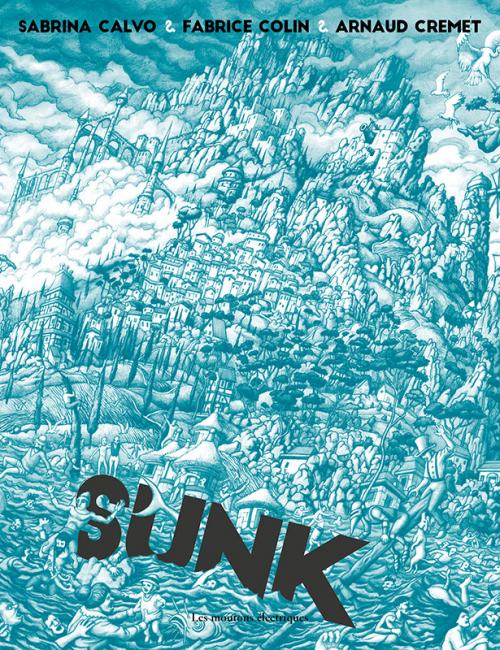Couverture Sunk