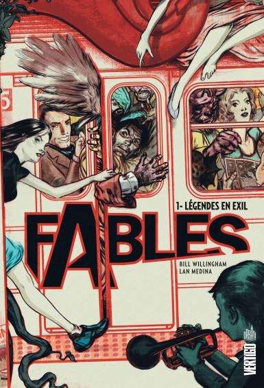 Couverture Fables, tome 01 : Légendes en exil
