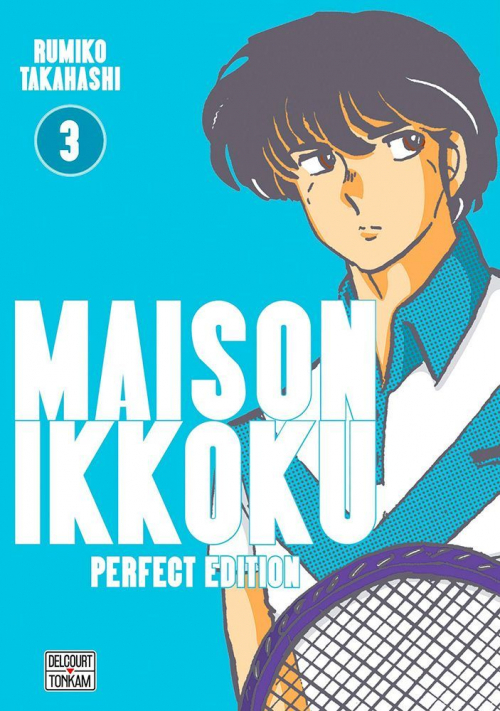 Couverture Maison Ikkoku, perfect, tome 3
