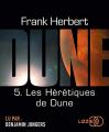 Couverture Le cycle de Dune (6 tomes), tome 5 : Les hérétiques de Dune Editions Lizzie 2019
