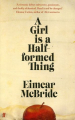 Couverture Une fille est une chose à demi Editions Faber & Faber 2014