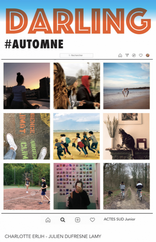 Couverture Darling #Automne