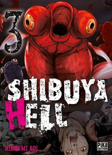 Couverture Shibuya Hell, tome 03