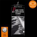 Couverture Pars vite et reviens tard Editions Audiolib 2012