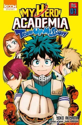 Couverture My Hero Academia Team-Up Mission, tome 1