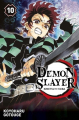 Couverture Les rôdeurs de la nuit / Demon Slayer, tome 10 Editions Panini 2020