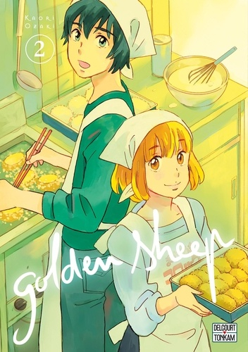 Couverture Golden Sheep, tome 2
