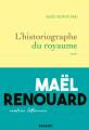 Couverture L'historiographe du royaume Editions Grasset 2020